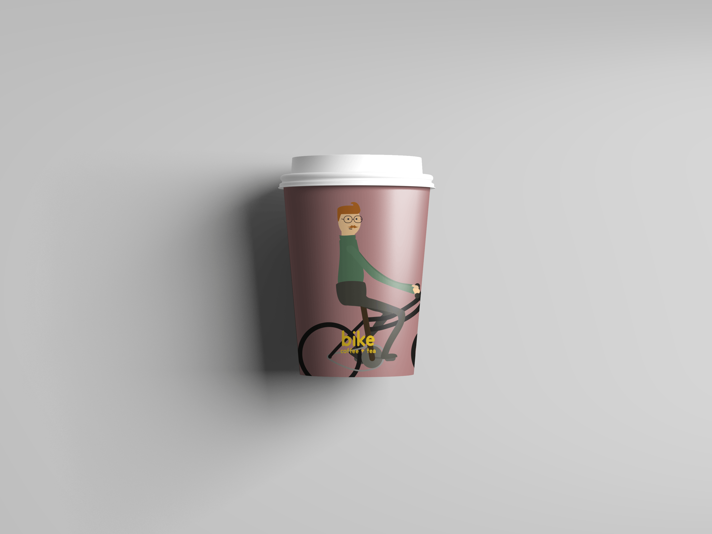 Bike Take Away Cup